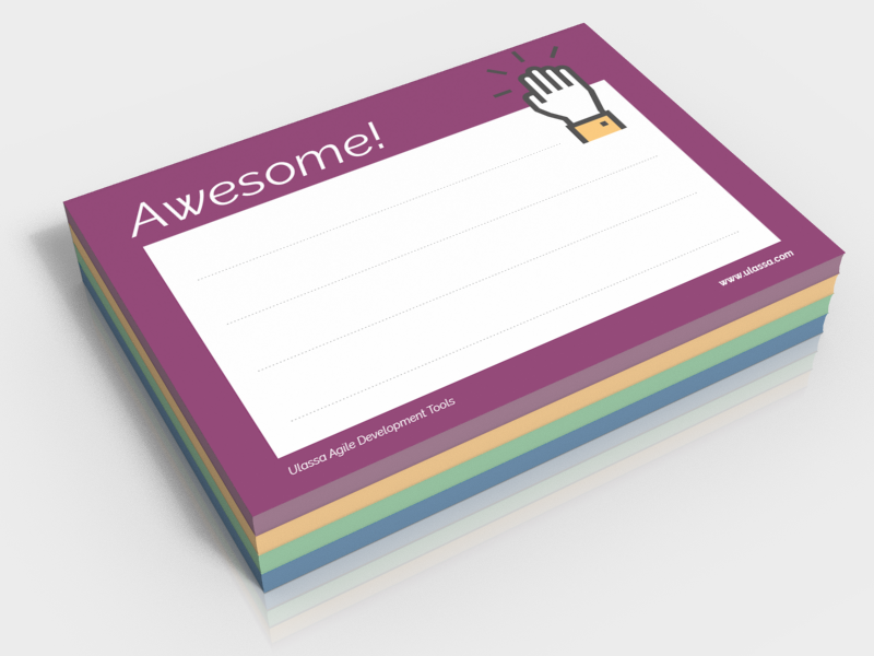 Ulassa-Awesome-Notes-Stapel